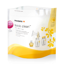 Пакеты Quick Clean Medela для паровой стерилизации